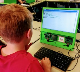 Coding using Raspberry PI