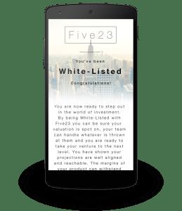 Five23 | Nexus 5 | Startup Valuation