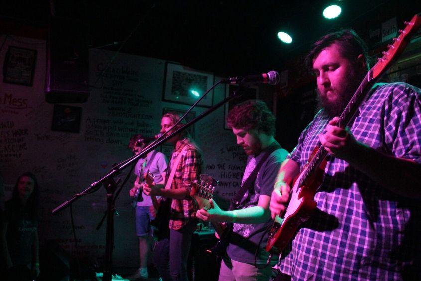 left to right: Charles Holt, JS Ray, Kevin Headrick, and Matt Graham; photo by Travis Merchant