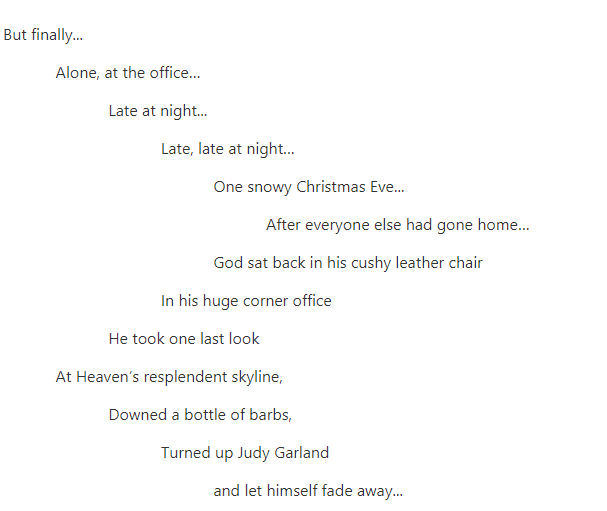 Kurt Baumeister's God and Judy Garland poem on Five2One