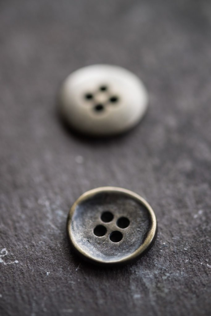 Merchant and Mills <br>Buttons — Stamped 15mm