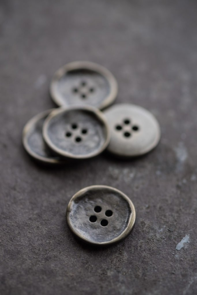 Merchant and Mills <br>Buttons — Stamped 20mm