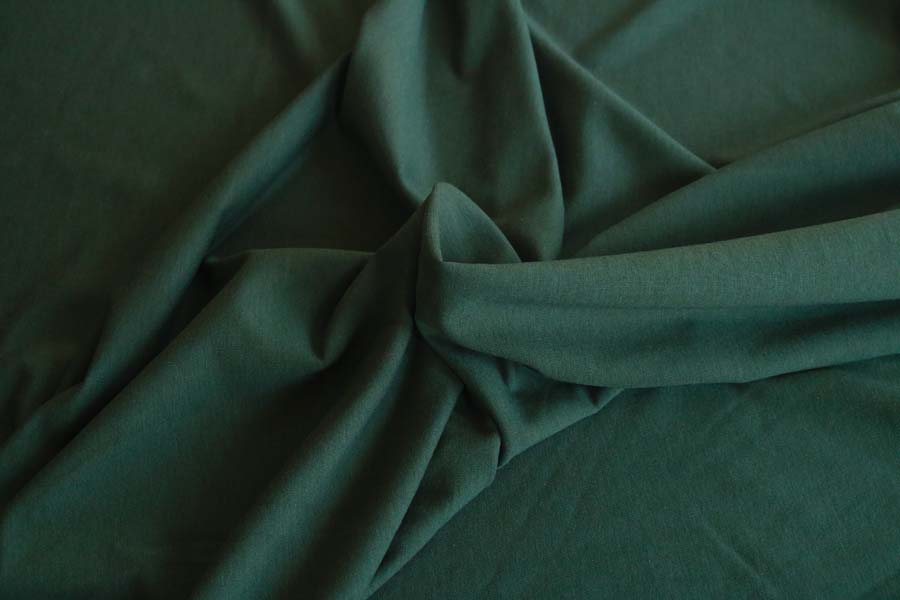 Bamboo/Cotton Stretch French Terry -- Pine
