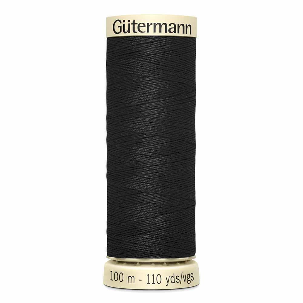 Gütermann Polyester Sew-All Thread 100m -- Black #10