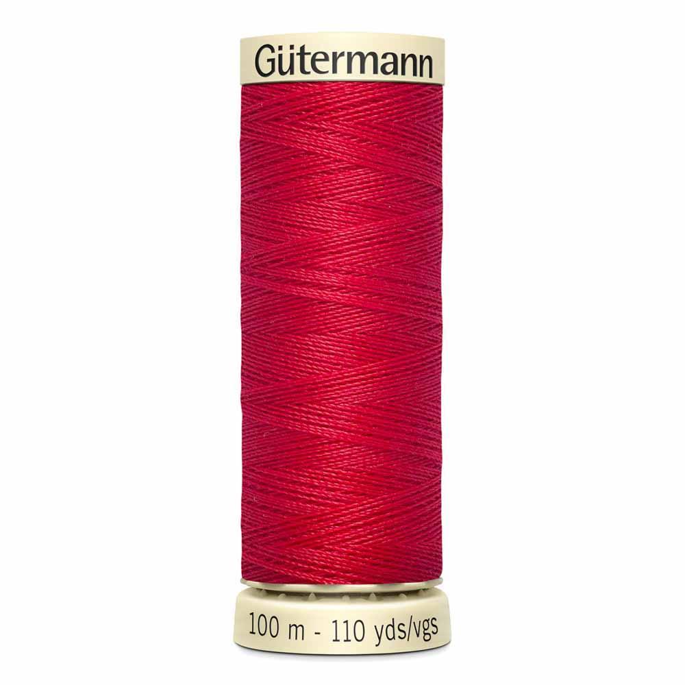 Gütermann Polyester Sew-All Thread 100m -- Scarlet #410
