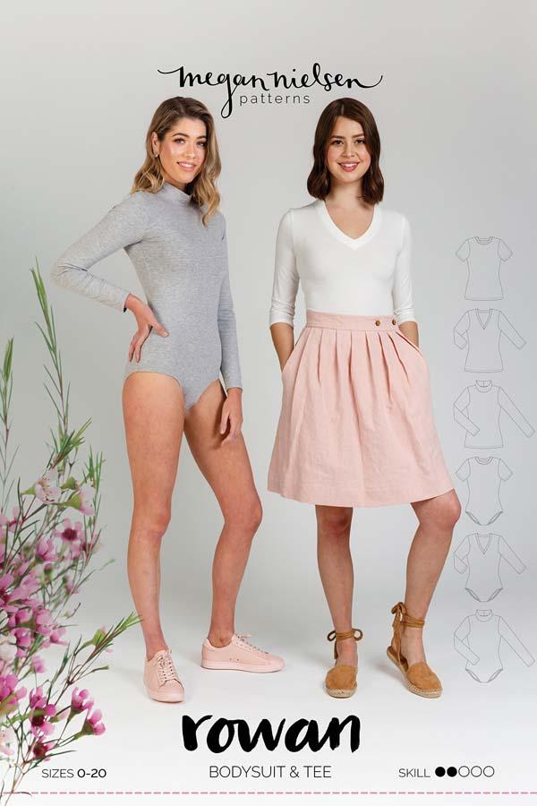 Megan Nielsen Rowan Bodysuit & Tee