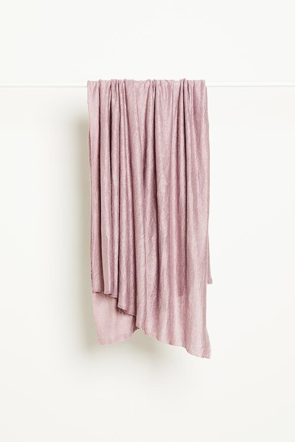 Mind the Maker Fine Linen Knit -- Lilac