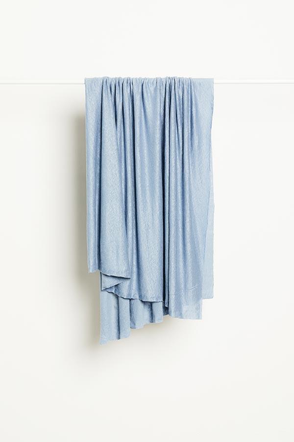Mind the Maker Fine Linen Knit -- Faded Blue
