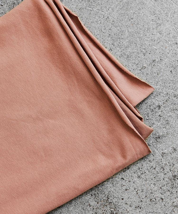 Mind the Maker Organic Single Stretch Jersey -- Old Rose