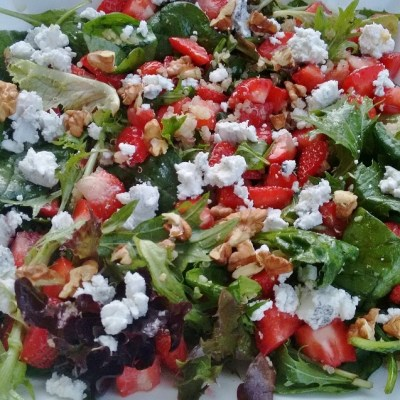 Salad Friday, a simple summer step towards meal planning