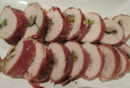 chicken roulade sous vide