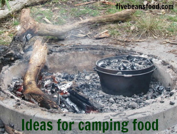Ideas for cooking when camping