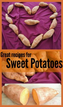 A great collection of sweet potato recipes