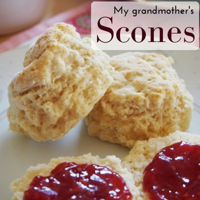 This is my grandmother's recipe for old fashioned scones