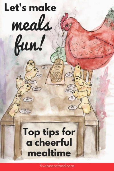 Looking for some ideas to make mealtime a little more fun? These tips for a making meals fun will cheer up your dinnertime