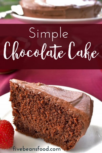 A chocolate cake recipe that is simple but tasty and a perfect homemade cake for all those birthday cakes