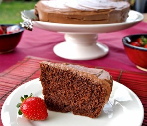 A simple but delicious chocolate cake