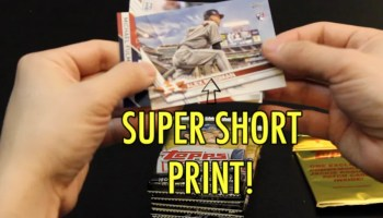 The Pleasant Surprise Of Finding Short Print Sports Cards In A