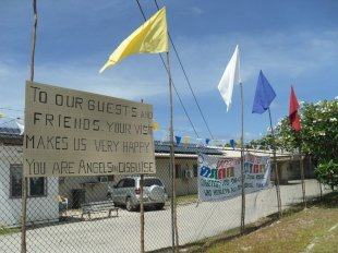 The Naoero Public Health Centre, one of the locations where MSF provided mental health services to asylum seekers, refugees and Nauruan locals.