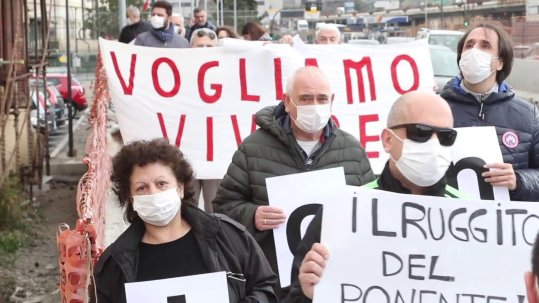Flash mob anti smog