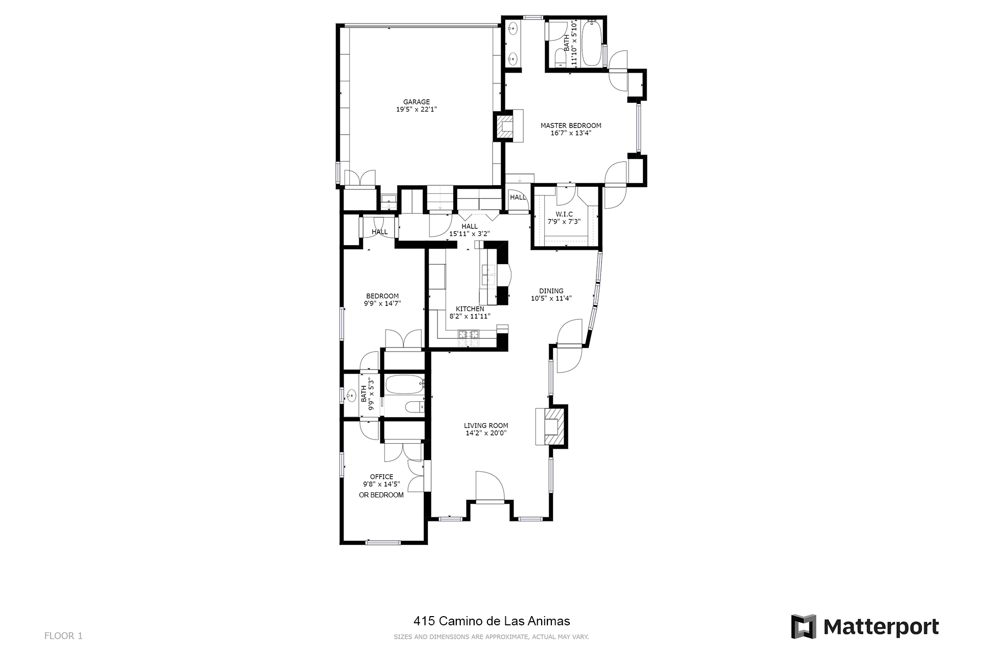 Floor Plans 415 Camino De Las Animas Santa Fe Nm 0 1