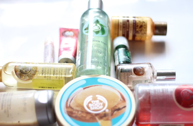 the body shop top 10 products