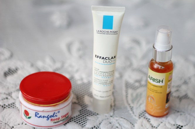 top 3 acne products