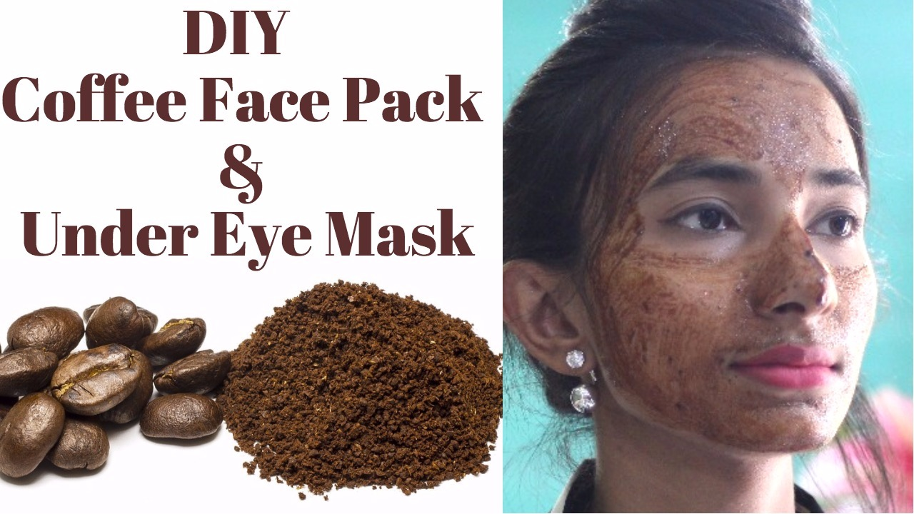 Coffee Face Pack For Fair Glowing Skin Sun Tan Removal Coffee Under Eye Mask In Hindi Five Feet Five