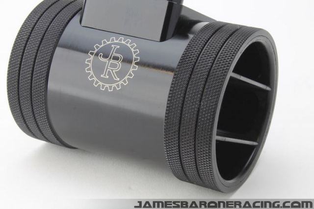 Short Ram Intake MAF Housing with air straightener. Image courtesy of jamesbaroneracing.com