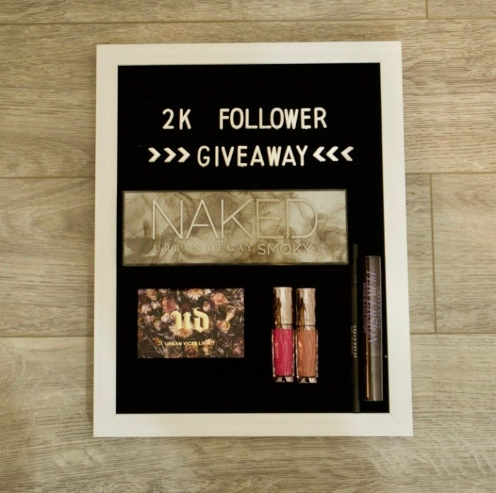 MY FIRST GIVEAWAY!