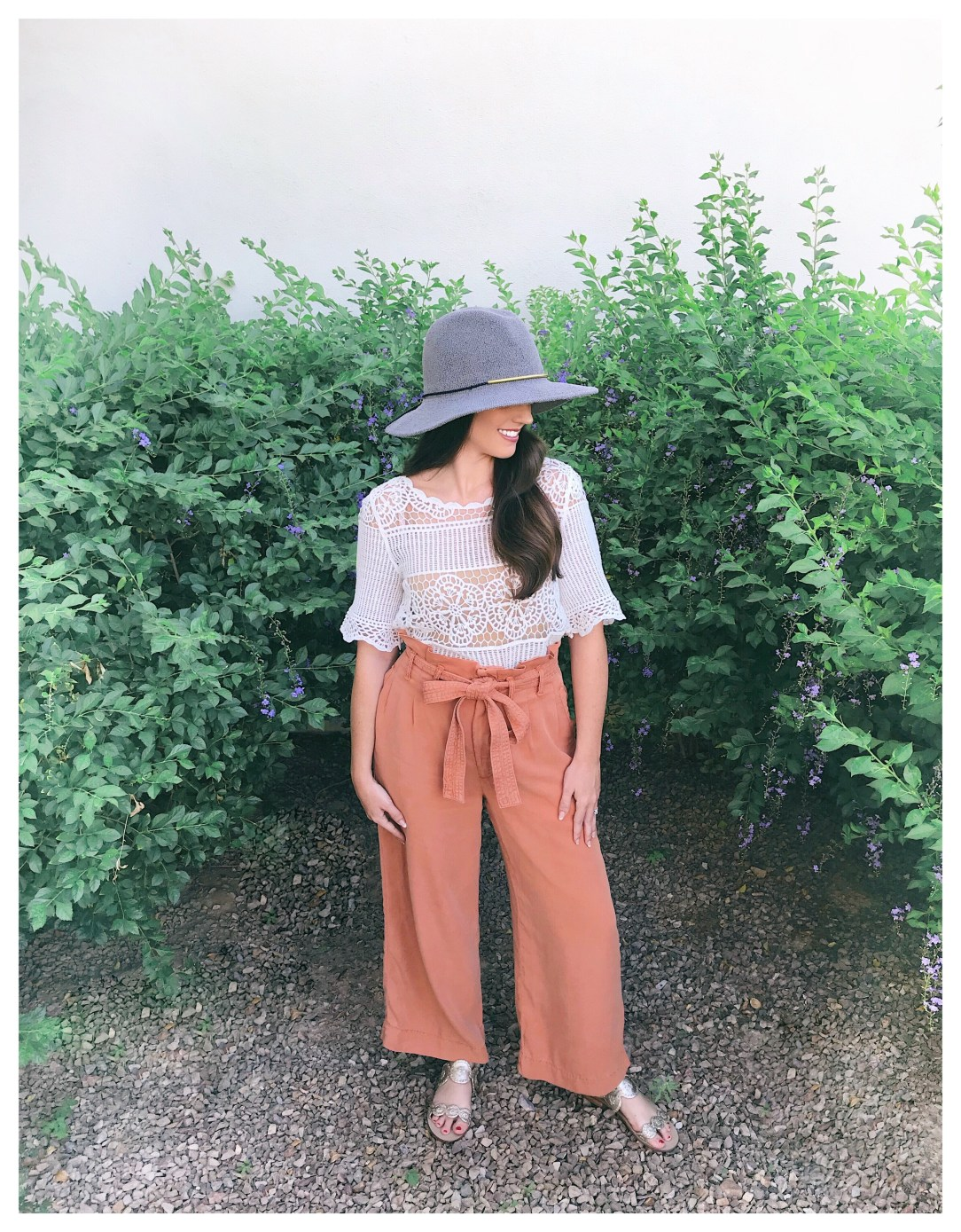 Five Foot Feminine Orange Petite Pants