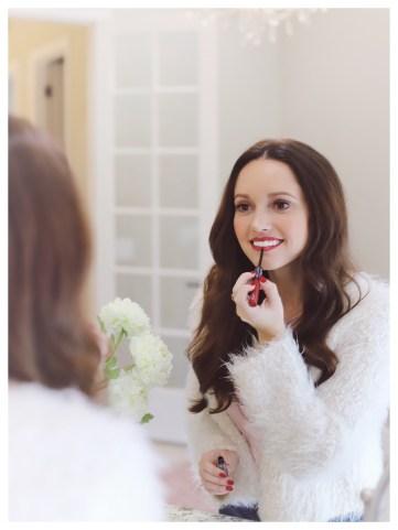 Five Foot Feminine in Revlon Colorstay Ultimate Wine Lipstick