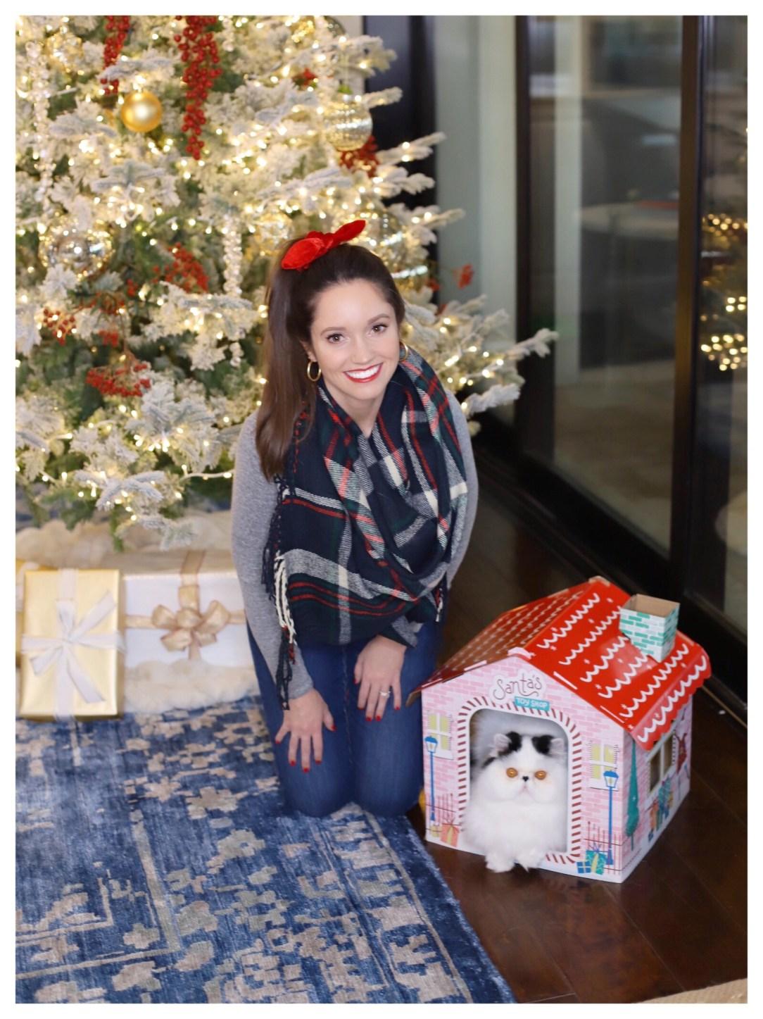 Petite Fashion Blogger Five Foot Feminine Christmas Decor