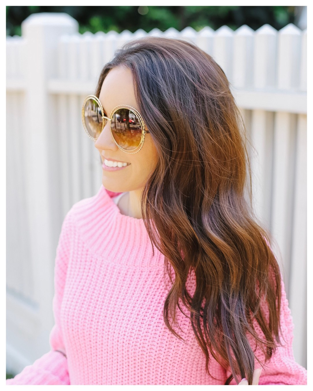Chloe Carlina Round Sunglasses