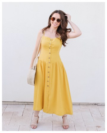Five Foot Feminine in Urban Outfitters Dress