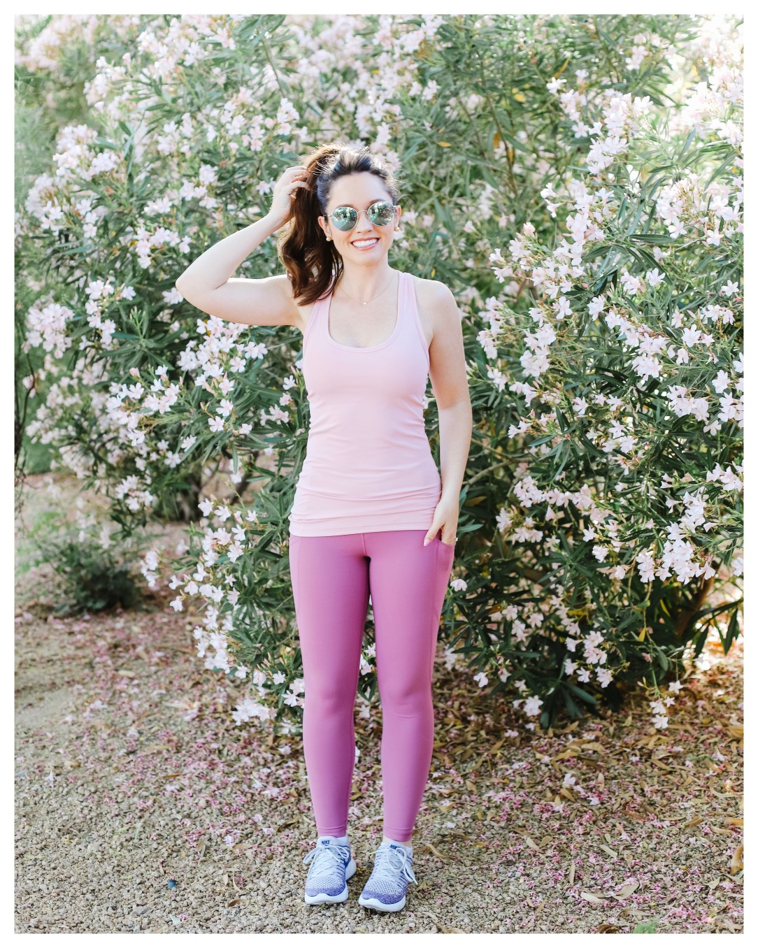 FiveFootFeminine in Yogalicious Active Wear