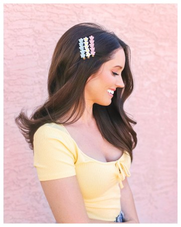 Floral Clips on FiveFootFeminine