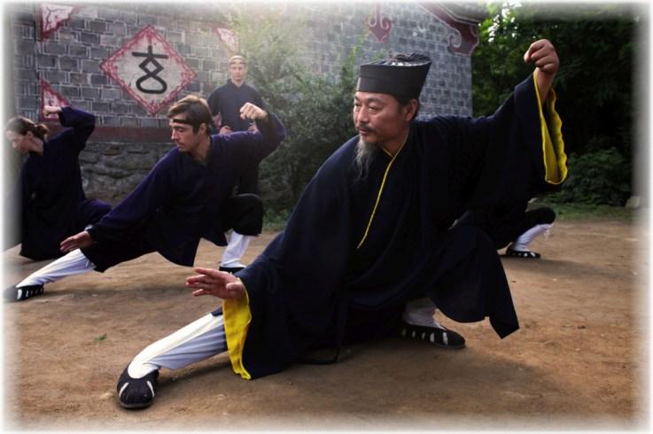 tai chi at five immortals temple