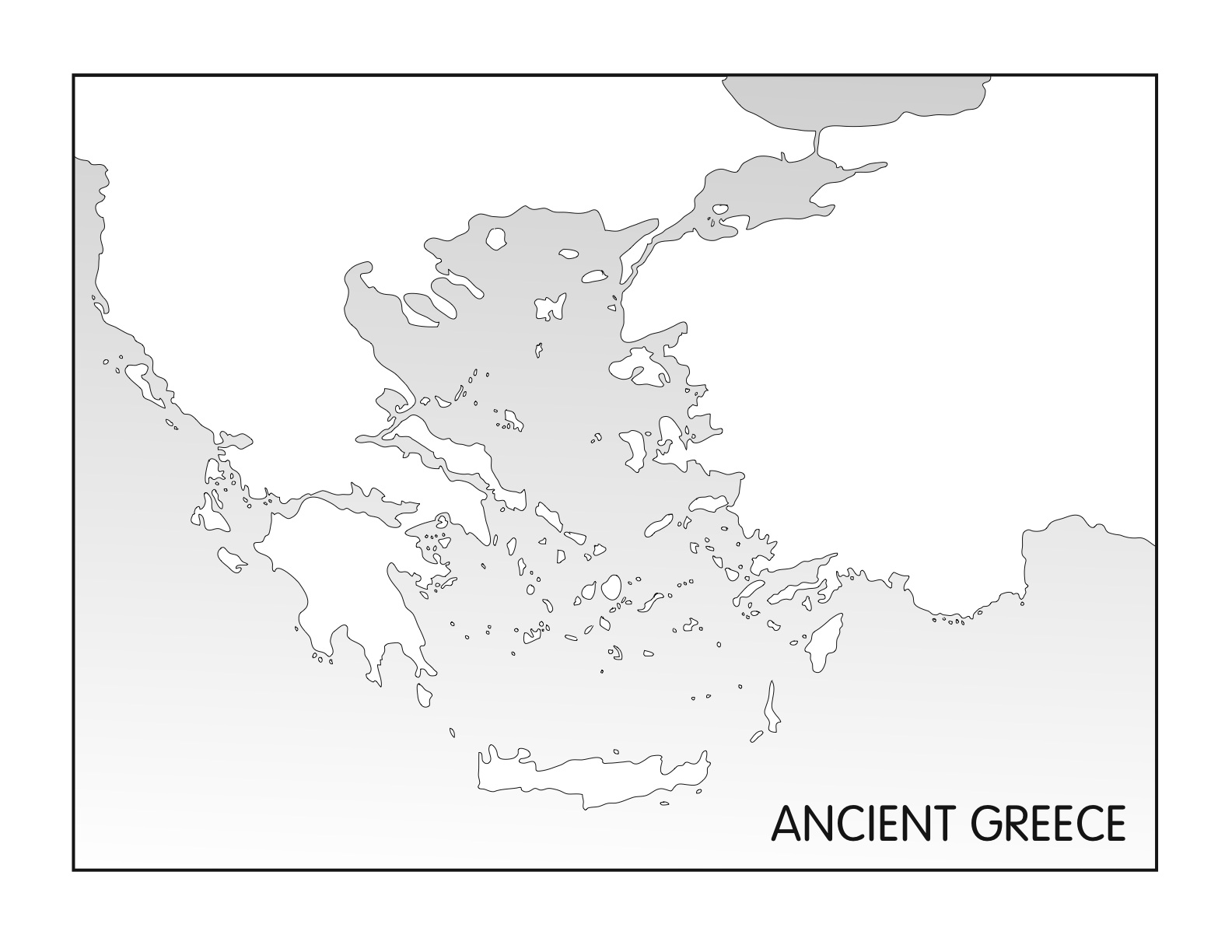 Outline Maps Ancient Egypt And Greece