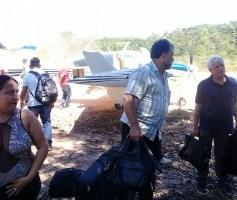OS DEPUTADOS ZÉ GERALDO E AIRTON FALEIRO PASSAM BEM APÓS PANE EM AVIÃO