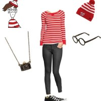 Halloween Costume: Where's Waldo (for her)