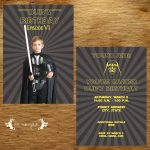 Star Wars Darth Vader Invitation | Five Marigolds