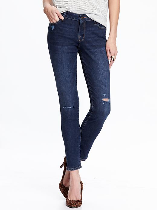 Favorite things- Old Navy RockStar distressed denim