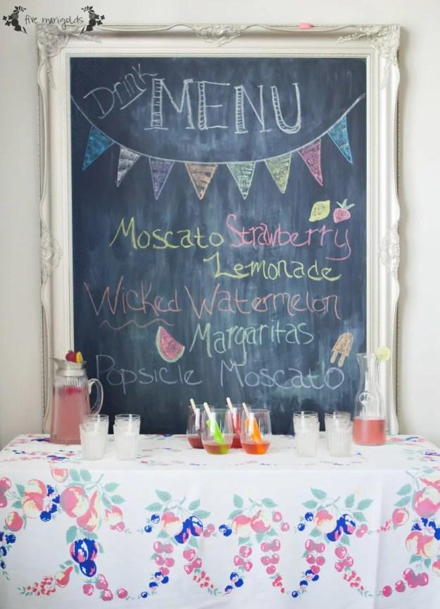 Summer Cocktails | Five Marigolds