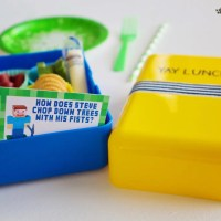 Free Back to School Printable: Minecraft Lunchbox Jokes