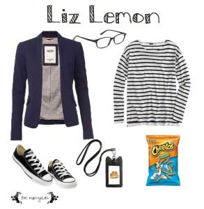 Shop your Closet for Free Halloween Costumes- Liz Lemon 30 Rock | Five Marigolds