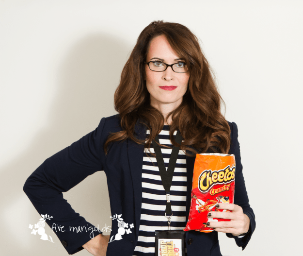 Shop your Closet for Hallween Tina Fey as Liz Lemon in 30 Rock Costume | Five Marigolds