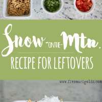 Snow on the Mountain Recipe - Lightened Up