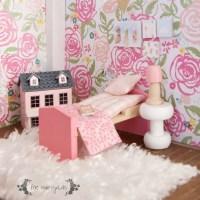 Vintage Dollhouse Remodel Part IV: Girl Room