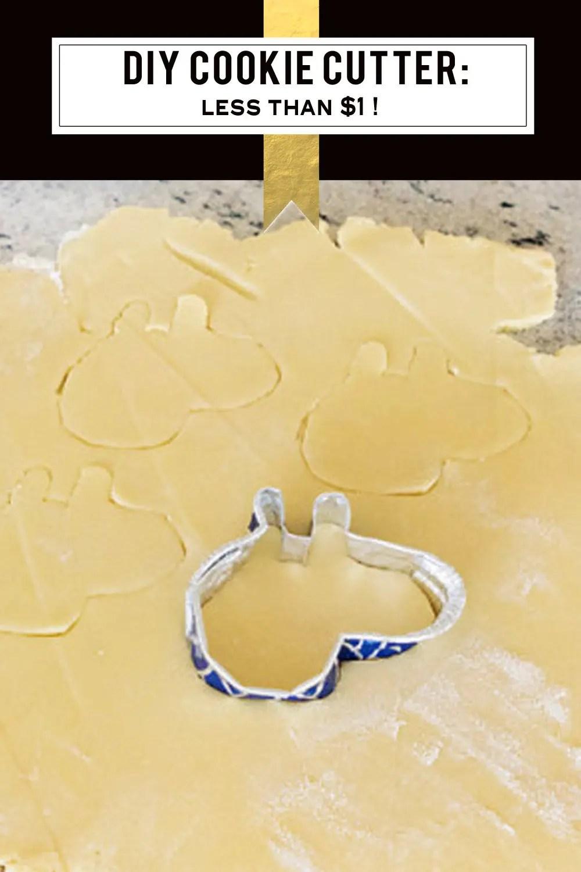 DIY Peppa Pig Custom Cookie Cutter Tutoral $1 | Five Marigolds